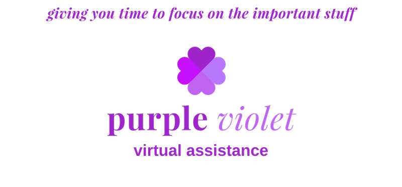 purple violet virtual assistance