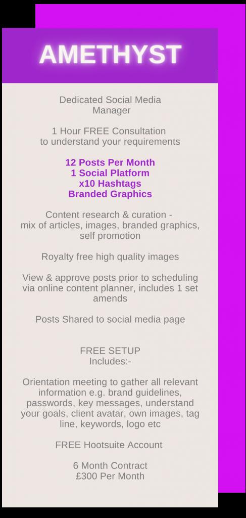 Social Media Package